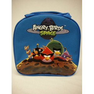 Angry Bird Insulated Lunchバッグ – Spaceブルーランチバッグ