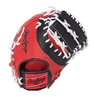 Rawlings(ローリングス)軟式グラブ HOHカラーシンクパッチ Japan Limited GR7FHHS3ACD RD×Bレッド×ブラック LH