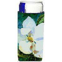 Caroline 's Treasures mm6054-parent花 – Magnolia Ultra Beverage Insulators forスリム缶mm6054muk、、マルチカラー...