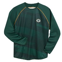 Green Bay Packers Majestic Rivalビジョン長袖クルーネック M