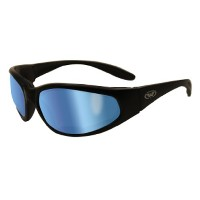Global Vision Eyewear Hercules Plus Safety Glasses, GT-Blue Lens by Global Vision Eyewear