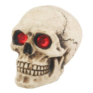 Skull Shift Knob W/Red Eyes - Collectible Figurine Statue Sculpture by Summit [並行輸入品]