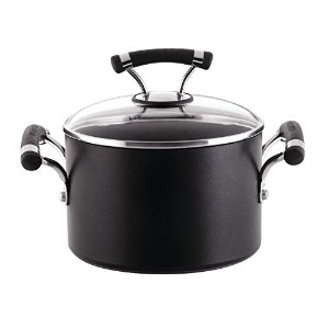 Circulonサーキュロン Contempo Red Nonstick Covered Saucepot ソース鍋 / ブラック
