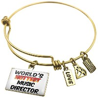 Expandable Wire Bangle braceletworlds Hottest Music Director、NEONBLOND