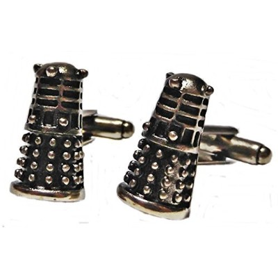 Doctor Who Dalekブロンズトーン3dカフリンク
