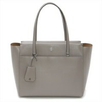 TORY BURCH トリーバーチ PARKER TOTE 37169 042グレー PARKER トートバッグ【f】【新品/未使用/正規品】