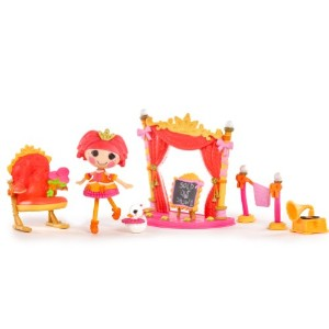 ララループシー ソフトドール Mini Lalaloopsy Playset - Tippy's Ballet Recital