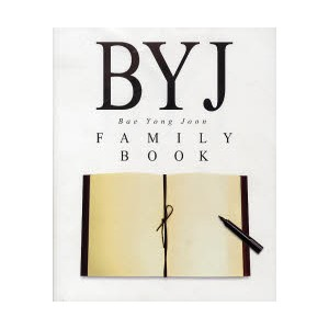 BYJ FAMILY BOOK