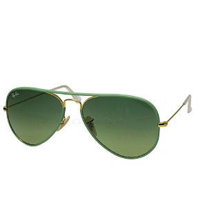 レイバン Ray Ban サングラス RB3025JM 001/3M AVIATOR ARISTA GREENGRADIENT GREEN