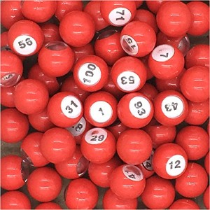 Tapp Collections Raffle Balls Number Set (1 - 100)