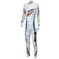 ANDORRA GS RACING SUIT(Not.FIS) ONO99A77 100(WHITE) M