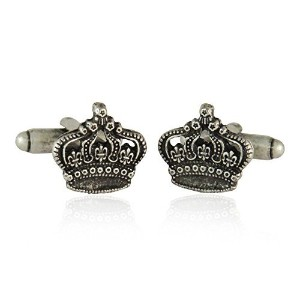 Crown King byカフスボタンJewelry Mountain