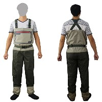 Fly fishing chest wader (?り用防水パンツ)