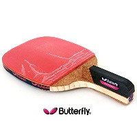 NEW Butterfly ADDOY P20 Table Tennis Racket Penholder Paddle Ping Pong Racket & Ball / Premium...