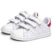 ADIDAS アディダス STAN SMITH CF IWhite/White/Bold Pinkスタンスミス CF I白ピンク