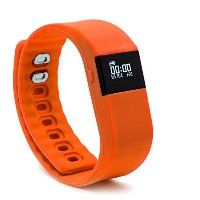 BLUEWEIGH Bluetooth 4.0 Fitness Activity Tracker - Pedometer (Orange) by BLUEWEIGH