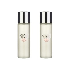 2 PCS SK-II Facial Treatment Milk 75ml Skincare Moisturizers SK2 SKII Japan