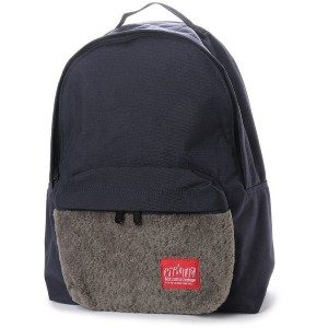 マンハッタンポーテージ Manhattan Portage Boa Fabric Big Apple Backpack JR (D.Navy) レディース メンズ