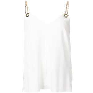 Derek Lam 10 Crosby - Cami With Grommet Detail - women - ポリエステル/トリアセテート - 4