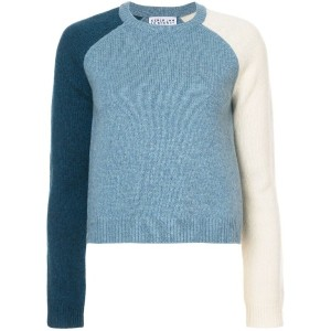 Derek Lam 10 Crosby - Colorblocked Sleeve Sweater - women - ウール/ポリアミド - L