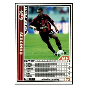 [WCCF]SERIE A 2001-2002Ver.1 158/288「セルジーニョ」白カード【中古】
