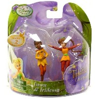 Disney Fairies Tinker Bell And The Great Fairy Rescue 2インチ ティンカーベル ミニフィギュア Mini Figure 2パック Fawn...
