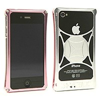 710-A01-0054 モリワキ iPhone4s、4用 ケース ピンク/クリア