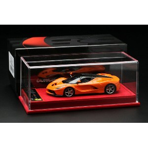 【平日即日発送可能】BBR 1/43 ラフェラーリ laferrari Special Edition Honda Orange/Gloss Black roof BBRC137ORA モデルカー...