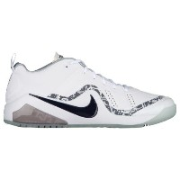 ナイキ メンズ 野球 シューズ・靴【Nike Force Zoom Trout 4 Turf】White/Black/Metallic Silver