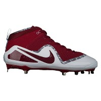 ナイキ メンズ 野球 シューズ・靴【Nike Force Zoom Trout 4】Team Maroon/Noble Red/White