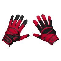 カッターズ メンズ 野球 グローブ【Cutters Power Control 2.0 Yin Yang Batting Glove】Black/Red
