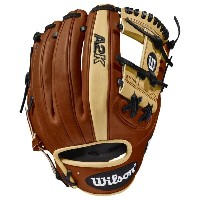ウィルソン メンズ 野球 グローブ【Wilson A2K 1786 Fielder's Glove】Copper/Blonde/Black