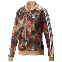 アディダス レディース アウター ジャージ【adidas Originals Pharrell Super Star Track Top】Swiss Camo
