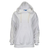 アディダス レディース トップス パーカー【adidas Originals St. Petersburg Flocked Hoodie】White