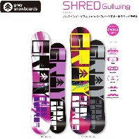 16/17GRAY SNOWBOARD【SHRED】