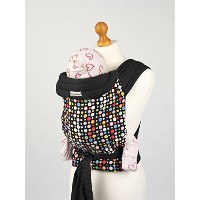 Palm and Pond Mei Tai Baby Sling Carrier - Multi Colored Spots by Palm&Pond