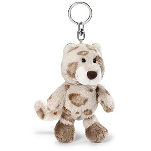 NICI Snow Dreams Snow Leopard Boy Key Holder 10 cm