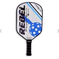 ProLite Rebel Powerspin Pickleballパドル – Aliグレー/ Morrisonブルー