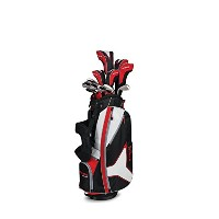 Callaway StrataツアーCompleteセット、Dr、3 W、5 W、4h、5h、6i、7i、8i、9i、PW、SW、パター、バッグ、5ヘッドカバー