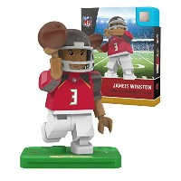 NFL Tampa Bay Buccaneers gen4 Limited Edition Jameis Winston Mini Figure、スモール、ホワイト