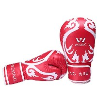 Kids Muay Thai Kickboxing Boxing Bag Gloves forジュニアトレーナーとバッグWorks Mitts Works 6オンス3色デザインby Wesing