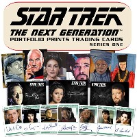 (セール)スタートレック Rittenhouse 2015 Star Trek The Next Generation :Portfolio Prints Trading Cards Series 1