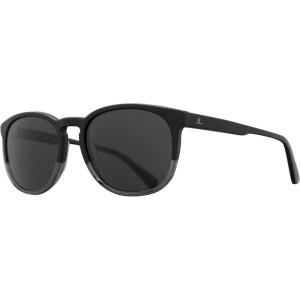 ヴュアルネ レディース メガネ・サングラス【District Round Medium VL 1622 Sunglasses】Matte Black/Clear/Pure Grey
