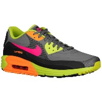 ナイキ メンズ シューズ・靴 スニーカー【Nike Air Max Lunar 90】Dark Grey/Black/Fierce Green/Fuchsia Force