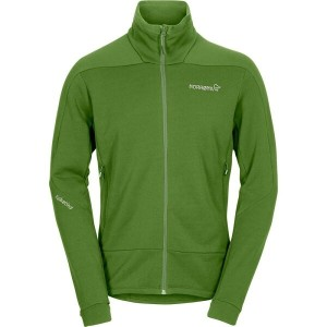 ノローナ メンズ トップス フリース【Falketind Power Stretch Fleece Jackets】Iguana