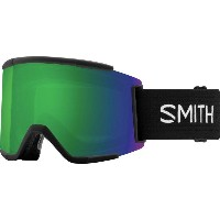 スミス メンズ スキー・スノーボード ゴーグル【Squad XL ChromaPop Goggles】Black/Chromapop Sun Green Mirror/Chromapop Storm...
