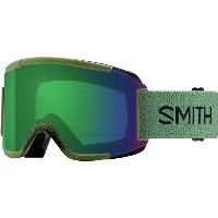 スミス メンズ スキー・スノーボード ゴーグル【Squad Interchangeable ChromaPop Goggles】Olive/Chromapop Everyday Green...