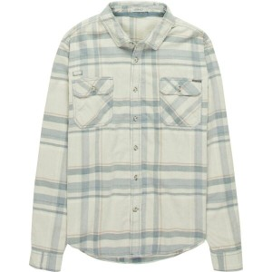 グラミチ メンズ トップス シャツ【Knock On My Door Cord Plaid Button - Up Shirts】Denim Blue