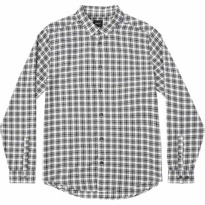 ルーカ メンズ トップス シャツ【Hayes Long - Sleeve Flannel Shirts】Antique White