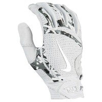 ナイキ メンズ 野球 グローブ【Nike Trout Elite Batting Gloves】White/White/Chrome
